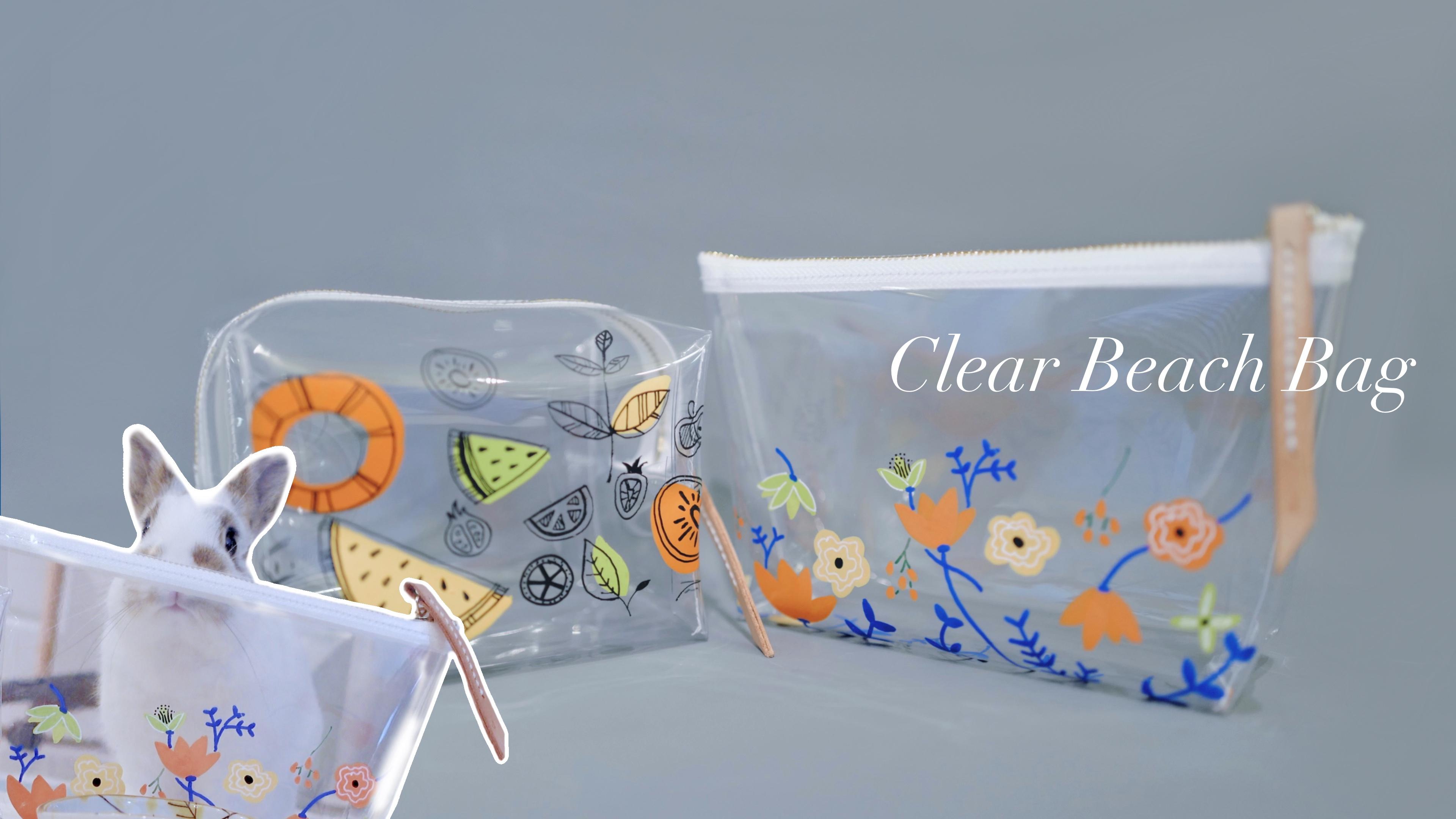 Clear Beach Bags