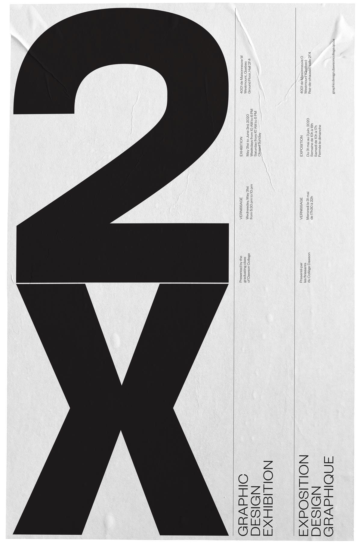 Poster Design for 2020 Vernissage