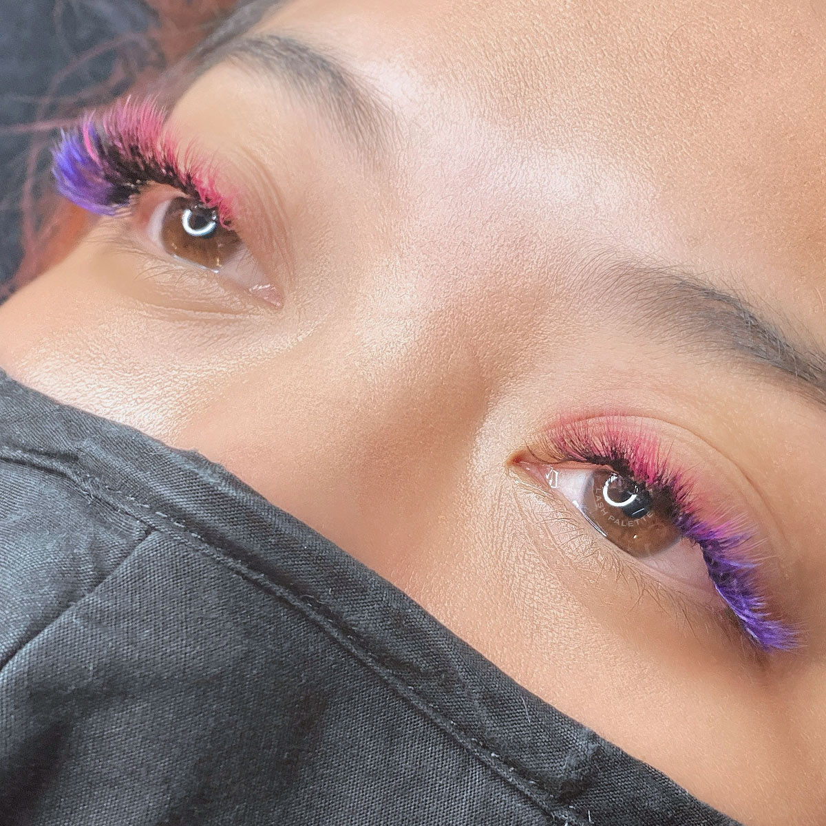Creative Color Pink + Purple Extensions Set