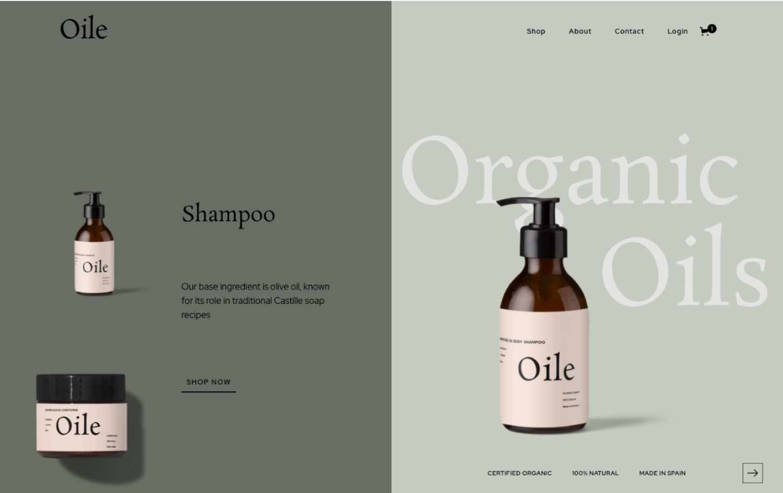 Oile Ecommerce — PLETÓRICA Designs Studio