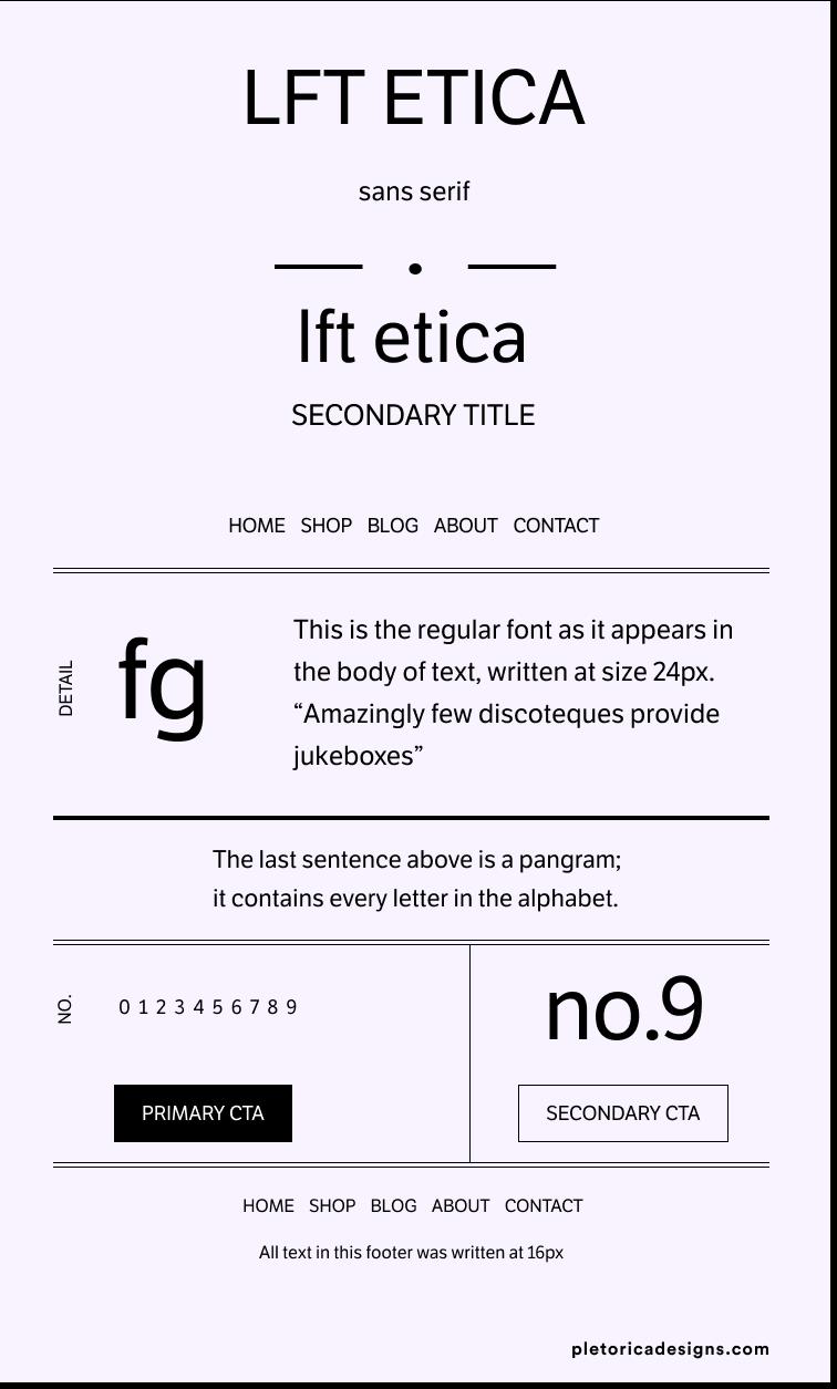 LFT Etica