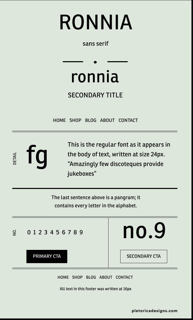 Ronnia