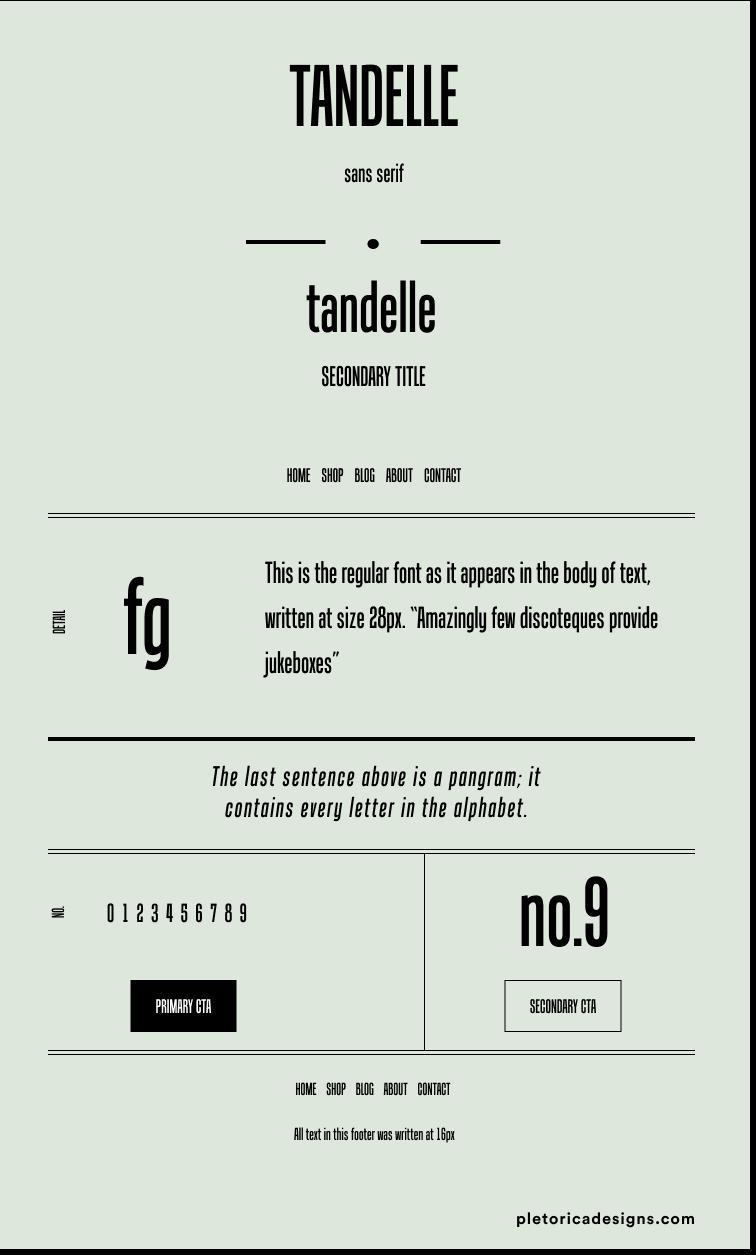 Tandelle