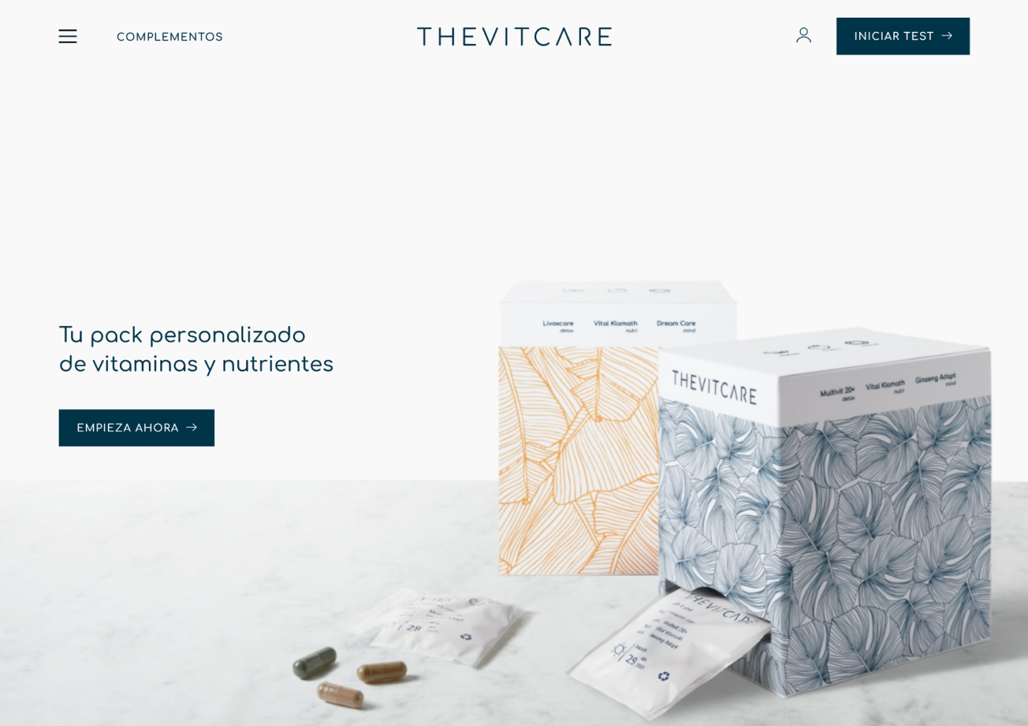 The Vitcare - Personalized Daily Vitamins