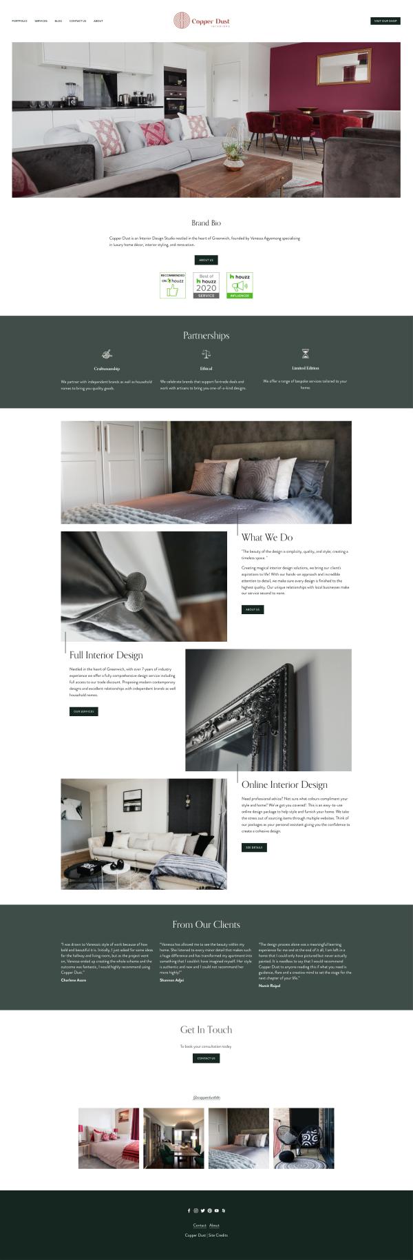 Copper Dust Interiors - London Interior Design