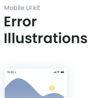 Error Illustrations - Mobile UI Kit