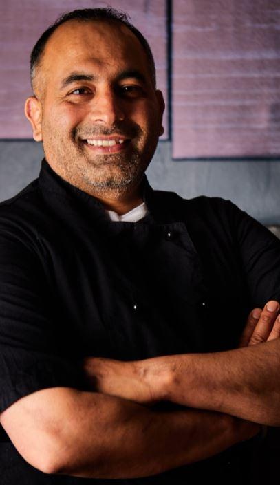 Executive chef Daljit Singh