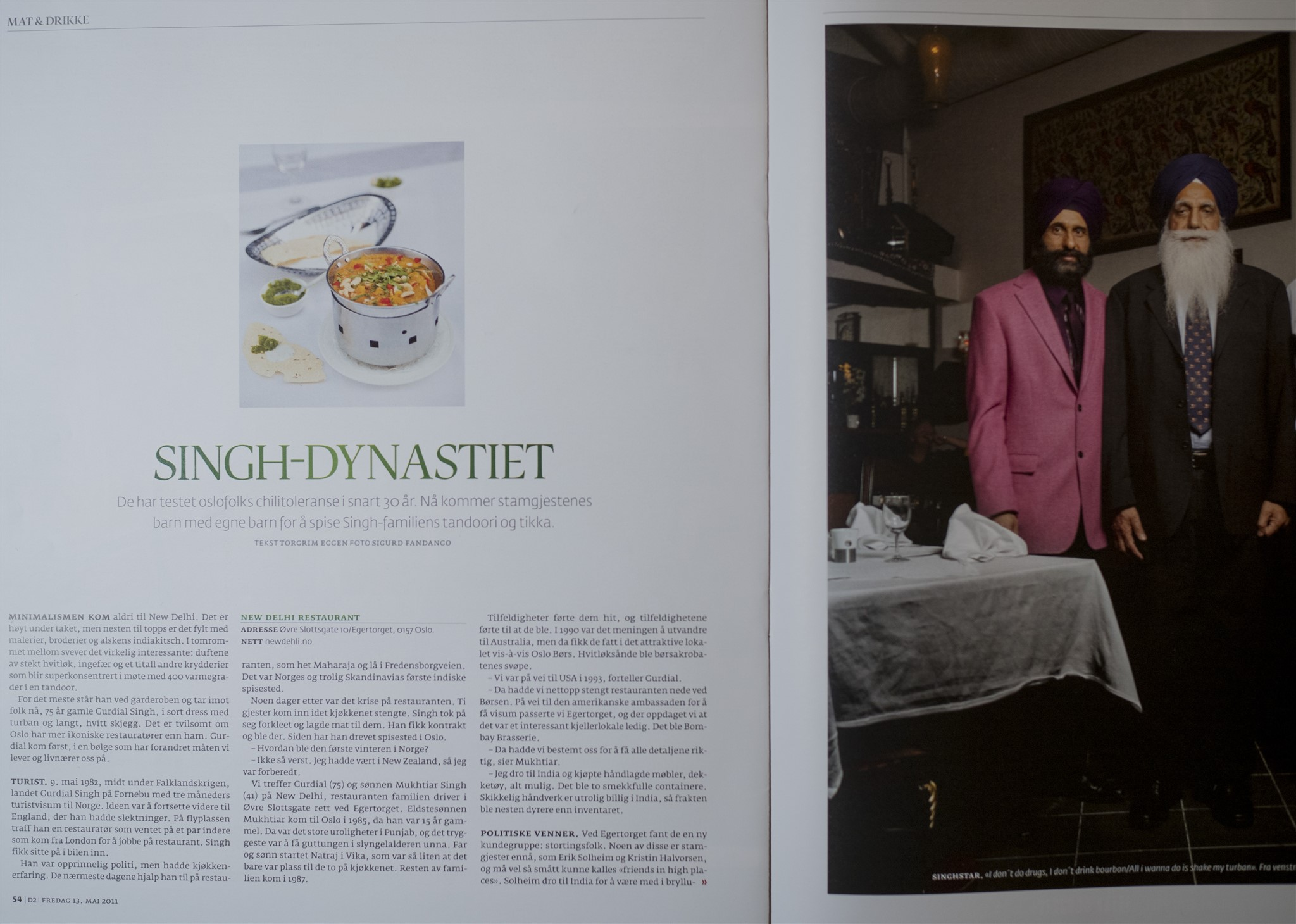 Singh dynastiet Norge