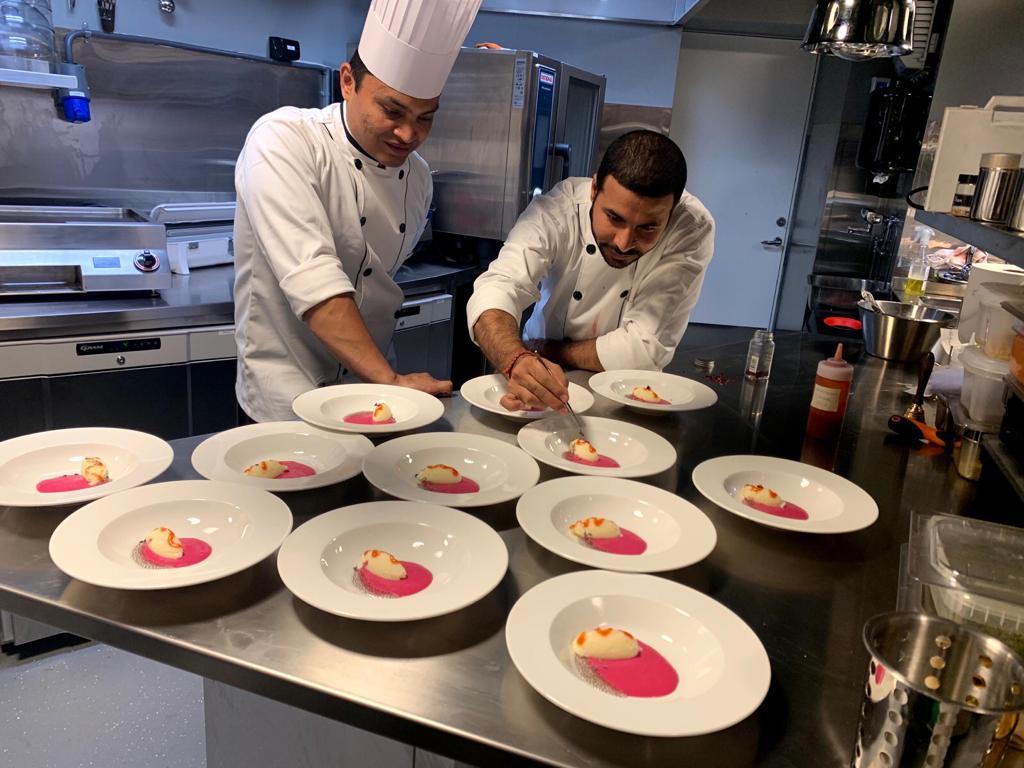 Chef Rohan og Chef Rajendra