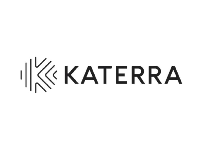 Katerra logo by Pentagram