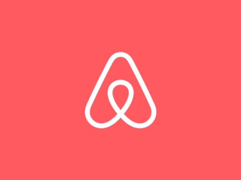 Airbnb logo by DesignStudio