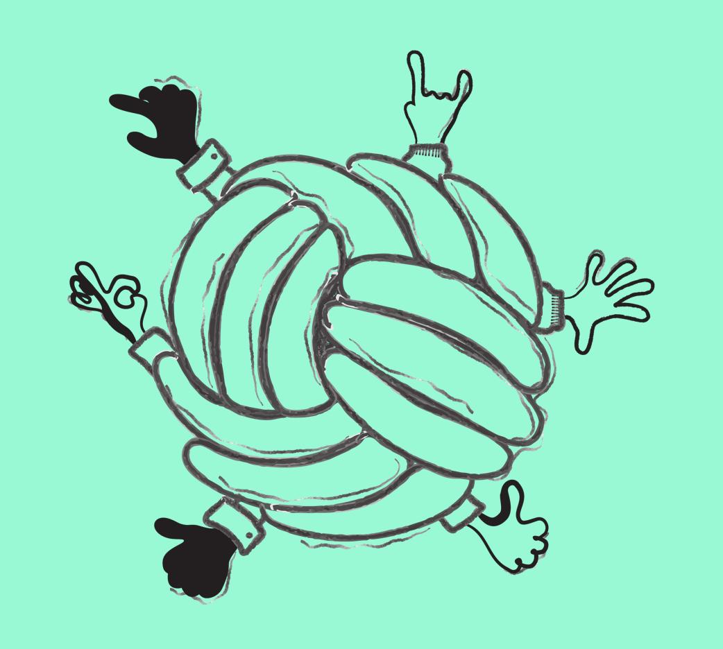 Absurd design illustration example