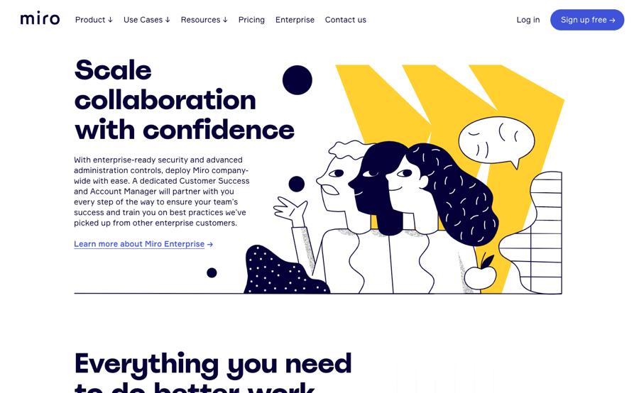 Miro brand illustrations