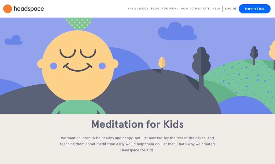 Headspace brand illustrations