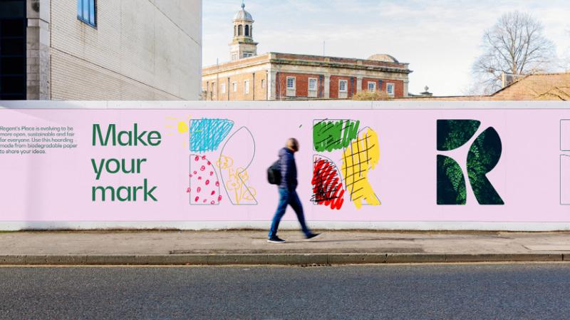 Regent's Place rebranding in action