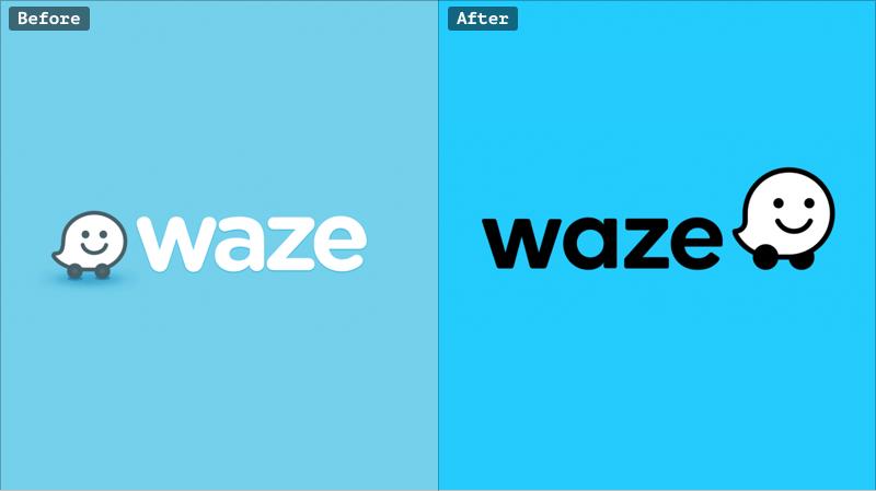 Waze rebranding