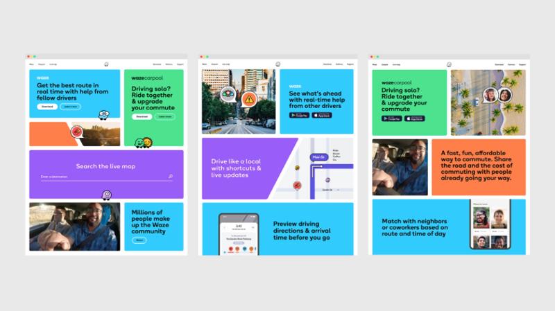 New Waze marketing site