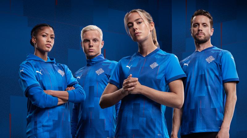 New Icelandic National Football Team jerseys