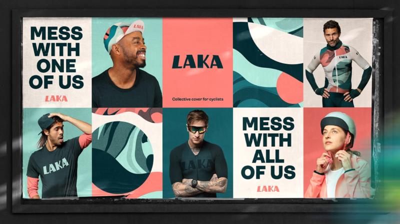Laka rebranding in action
