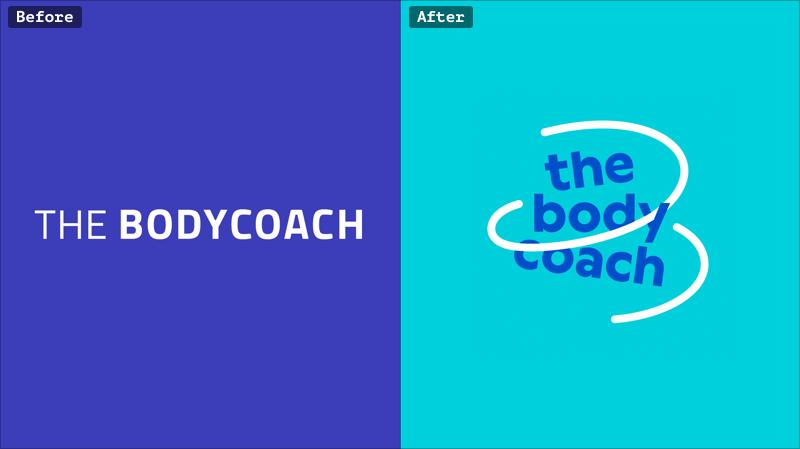 The body coach rebranding