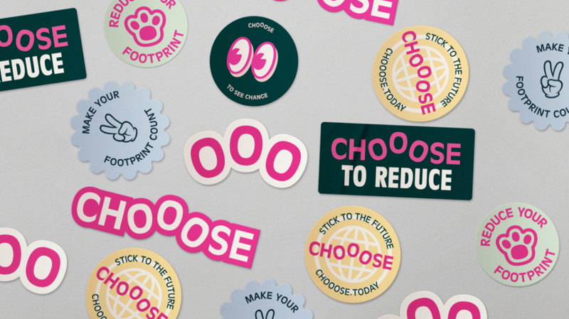 Some sweet stickers for Choose