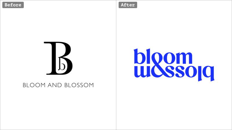 Bloom & Blossom rebranding