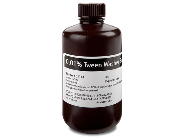 10X Concentrate of 0.01% Tween PBS 150 ml