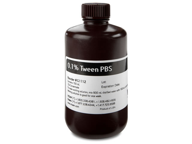 10X Concentrate of 0.1% Tween PBS 150 ml