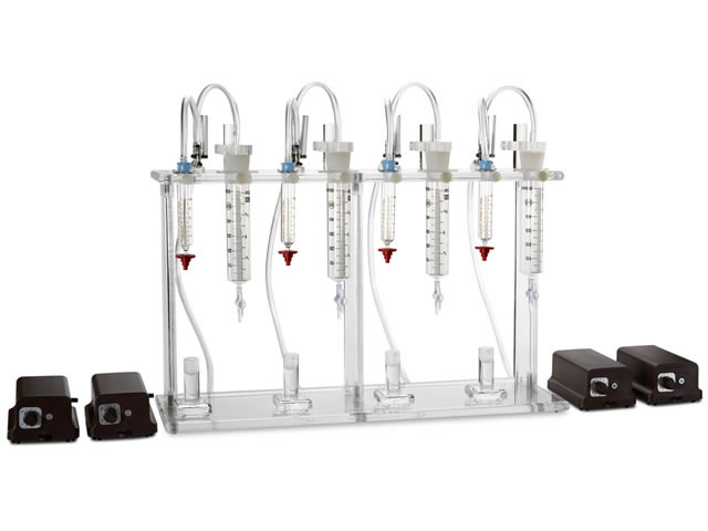 Afla M1 4-Position Pump Stand w/4 Pumps