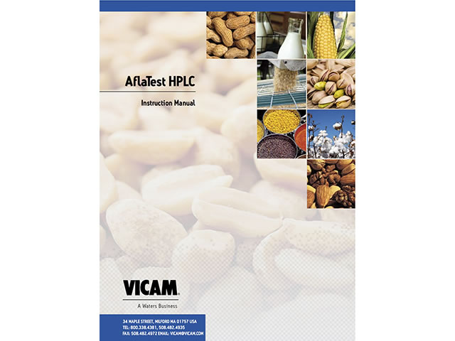 AflaTest HPLC Instruction Manual