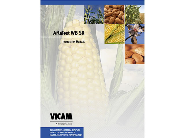 AflaTest WB SR Manual