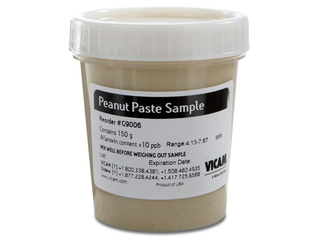 Aflatoxin Peanut Paste Sample, Less than 10ppb