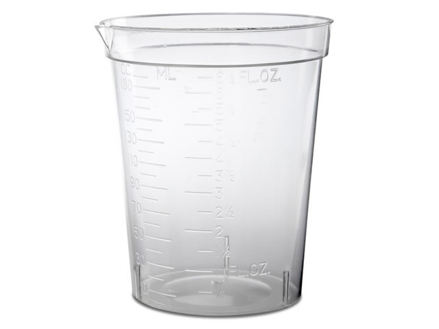 Disposable Plastic Beakers (25)