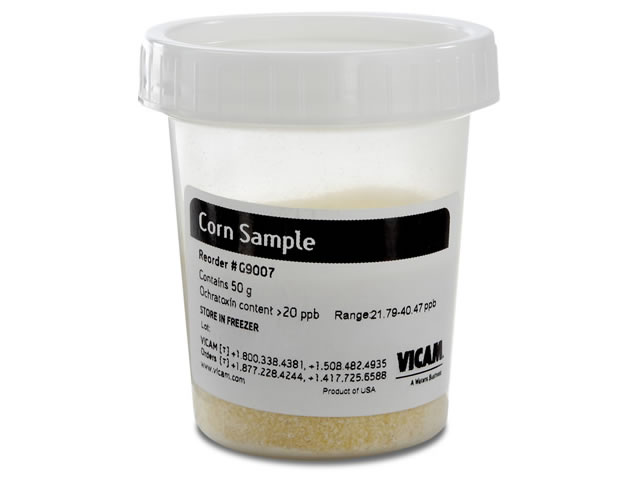 Ochratoxin Corn Sample, Over 20ppb