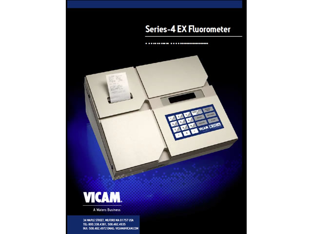 Series-4EX Fluorometer Manual CD ROM