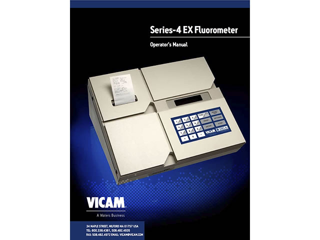 Series-4EX Fluorometer Manual Paper