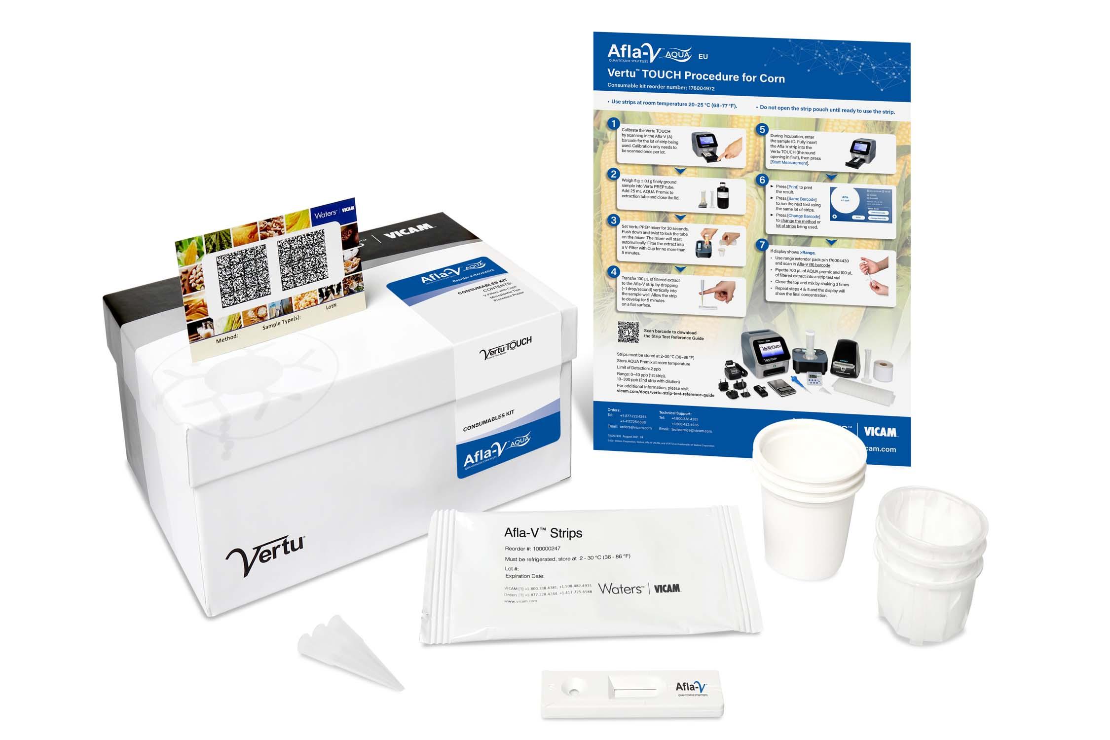 Afla-V AQUA VT Kit (25 Tests)