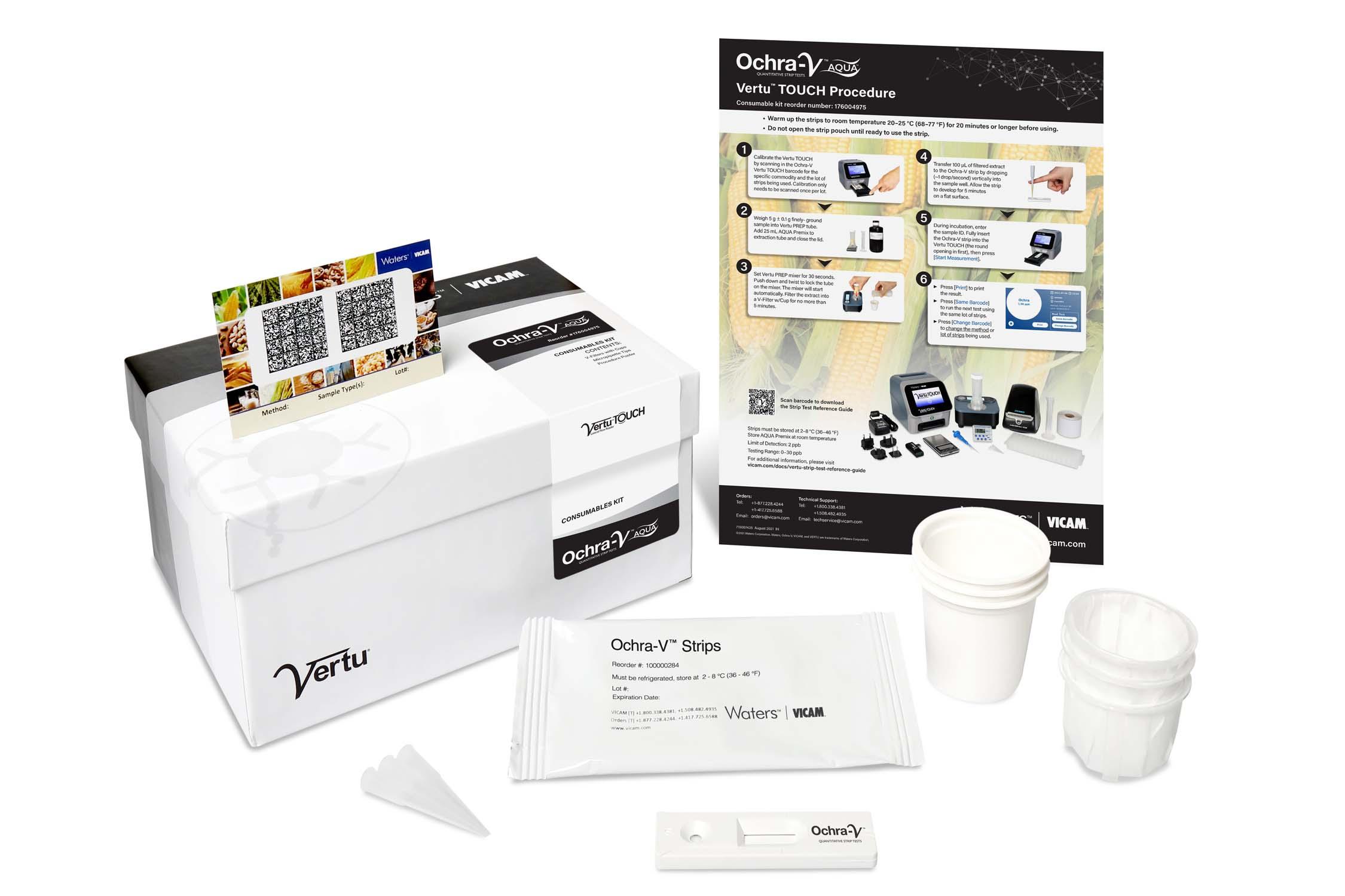 Ochra-V AQUA VT Kit (25 Tests)