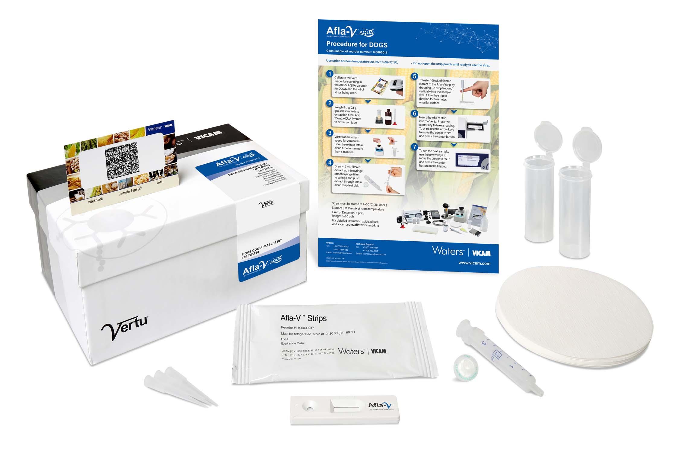 Afla-V AQUA DDGS Kit (25 Tests)