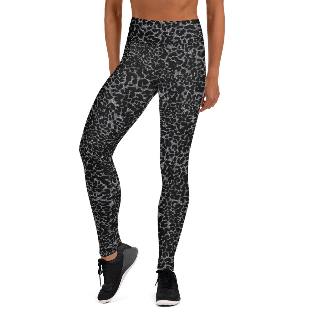 Olivia Tomlinson Leopard Dark Women's Leggings