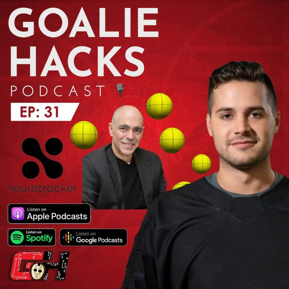Professor Faubert's Goalie Hacks Podcast episode