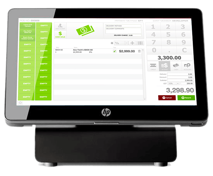 CloudRent POS System