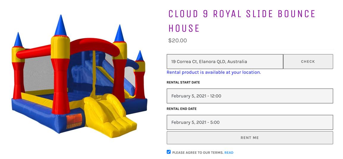 CloudRent Click Shopify App