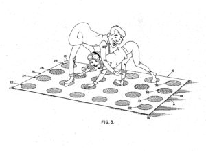 Twister game patent