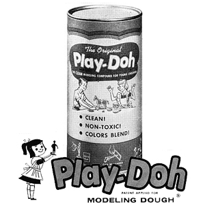 Play-doh advertising