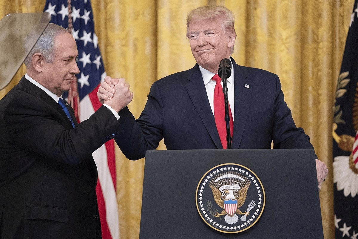 President Trump Unveils a Plan for a Comprehensive Peace Agreement Between Israel and the Palestinians