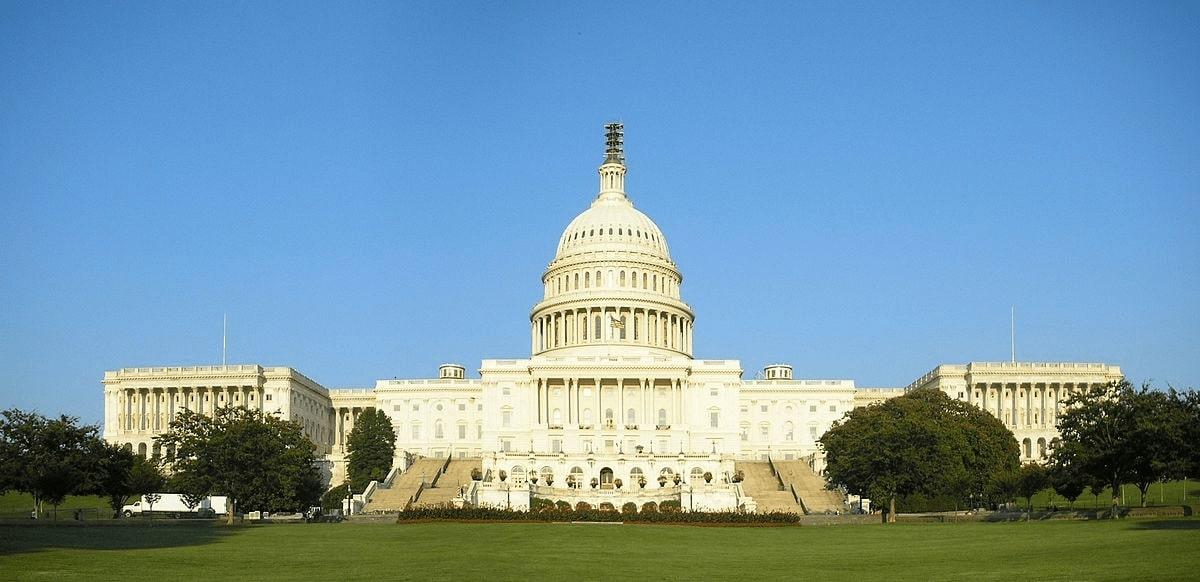 The US Capitol, Washington