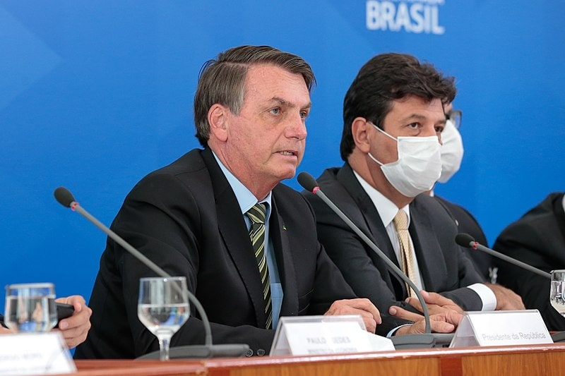 Press conference by the President of Brazil, Jair Bolsonaro