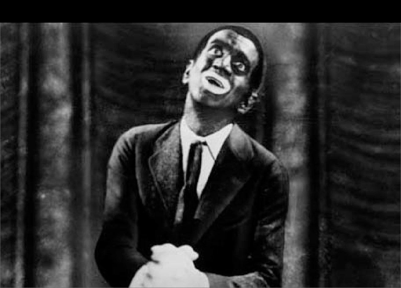 Al Jolson in Warner Bros. publicity photo for the film The Jazz Singer (1927)