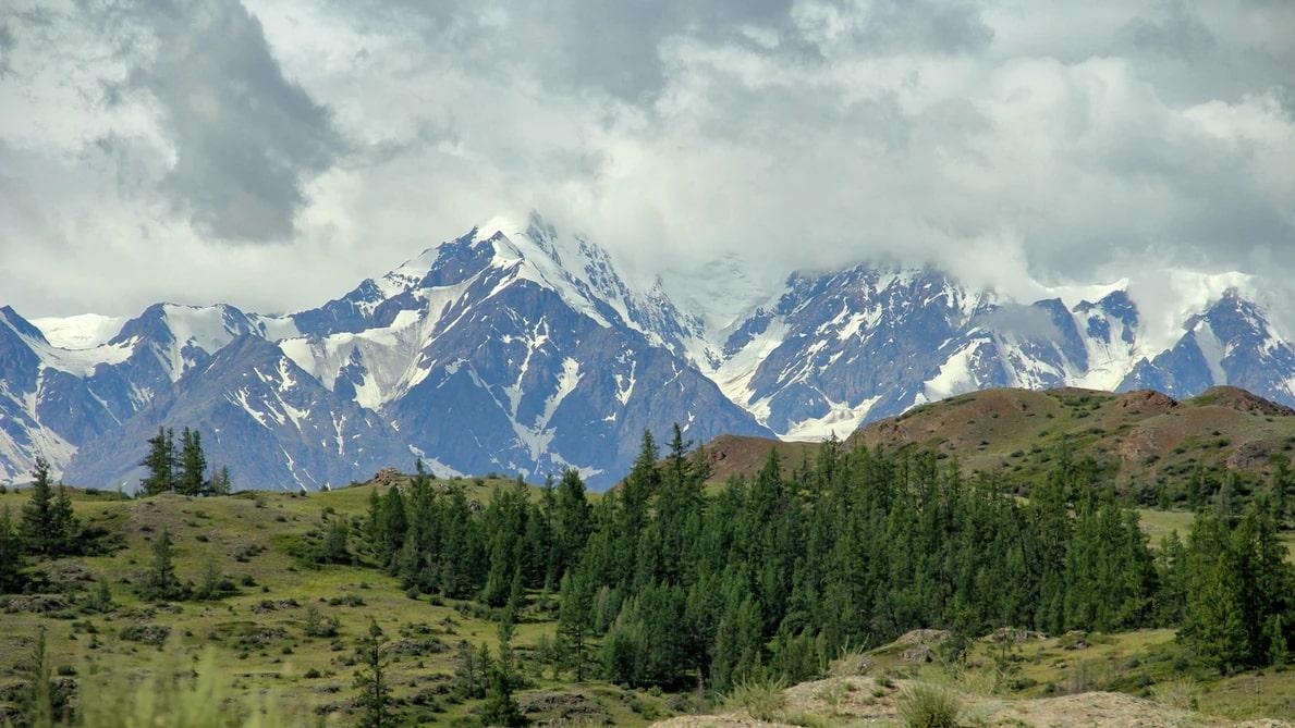 Mountain in Altai Republic, Siberia, Russian Federation